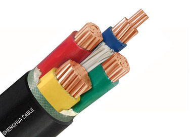 China Flame Resistant Low Smoke Zero Halogen Cable Customized 4 Cores 0.6KV / 1KV supplier
