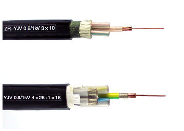 China 0.6 / 1 KV Fire Resistant Cable XLPE Insulation with Mica Tape IEC 60228 IEC 60332 supplier