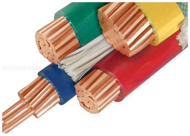 China 1000V Copper Conductor PVC Insulated Cables Customized With Three Half Core supplier