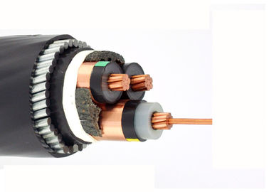 China Copper Conductor EPR / XLPE Insulated Power Cable SWA MV LSZH 3 Core supplier
