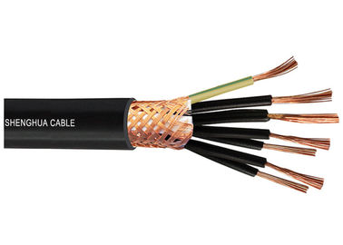 China Industrial / Mining Muticore Control Cables 12OD Bending Radius Resistant Corrosion supplier