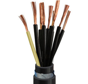 China XLPE insulated armoured control cable Multi-core flame retardant supplier