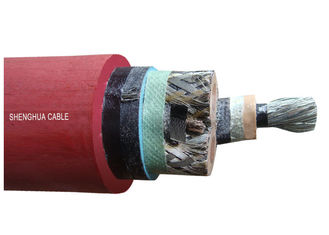 China 1.9 / 3.3 KV Mining Rubber Sheathed Cable , Screened EPR Insulation Cable supplier