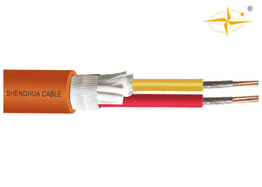 China Fireproof LSZH Low Smoke Zero Halogen Cable 4 Cores IEC 60228 / IEC 60332 supplier