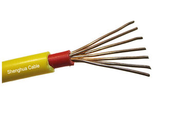 China U-1000V CU / PVC / FR - PVC Insulated Power Cable Flame and Fire Resistant supplier