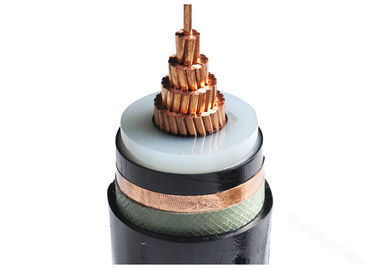 China MV 26 / 35kV Signle Core or Three Core XLPE Insulated Power Cable with stranded Copper Conductor supplier