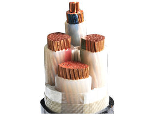 China Polypropylene Filler XLPE Insulated Power Cable with Compact stranded copper conductor supplier