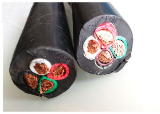 China Class 5 Copper Conducotor Rubber Sheathed Cable YCW  Cable H07RN-F supplier