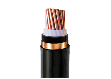 China Single Phase XLPE Insulation Cable Copper Copper Tape Shield Electric Cable supplier