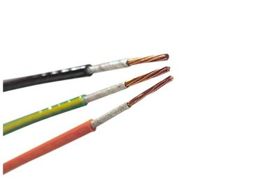 China IEC331 Standard Single Core FRC Cable Flame Resistant Cable Good Fire Safety Capability supplier