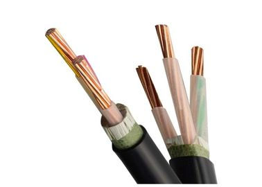 China 0.6 / 1 KV XLPE / LSHF Low Smoke Halogen Free Cable Underground PO Jacket supplier