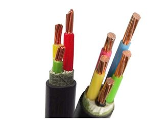 China Black Low Smoke Zero Halogen Cable LSZH Cables for Smoke Emission / Toxic Fumes supplier