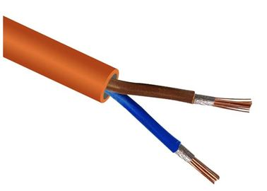 China 2 Core Fire Resisitant Low Smoke Zero Halogen Cable  IEC 60228 / IEC 60332 supplier