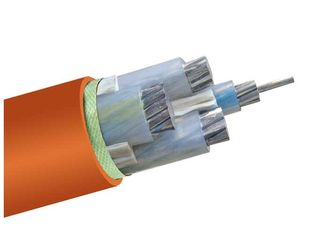 China 0.6kv / 1kV  Low Smoke Halogen Free Aluminum Cable Wire CE ISO Certification supplier