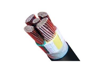 China PVC Sheathed Power Cable 0.6/1kV Five Core Low Voltage XLPE Insulated supplier