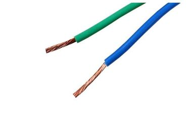 China Green Blue Insulated Wire Cable For Switch Control , 450/750v 5 Conductor Class supplier