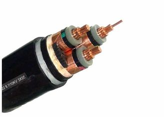 China Armoured Electrical Cable HT  3 Core X 185mm 2 Copper , Armored Electrical Cable supplier