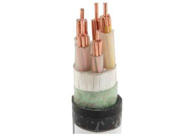 China Fout Cores 0.6 / 1KV Low Smoke Zero Halogen Cable With Flame Retardant supplier
