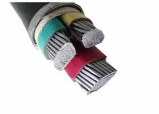 China 600/1000V Compacted AL Conductor PVC Insulated Cables Sheathed Power Cable supplier