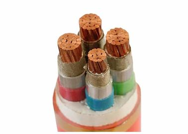 China 4 Core Cu / Mica Tape / XLPE / LSOH Fire Proof Cable For Cable Channel supplier
