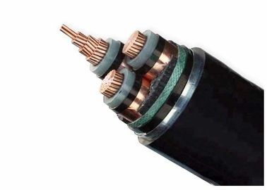 China Free Sample XLPE Insulated Power Cable ZR- PVC Type Outer Semi - Conductive Layer supplier