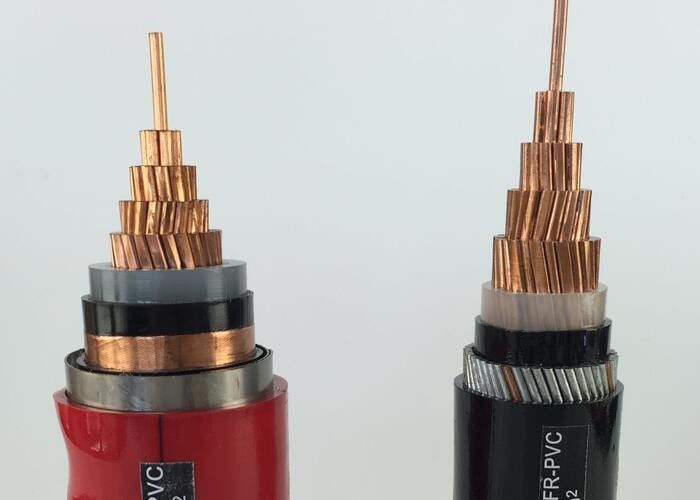 Laying Indoor / Outdoor XLPE Insulated Power Cable , XLPE ...
