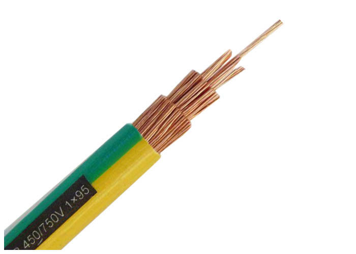 Multi Core Copper Conductor Electrical Cable Wire / Electrical ...