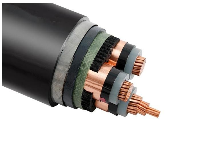 Electric High Voltage Power Cable : Medium voltage phase cu xlpe sta pvc electrical