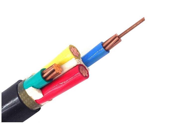 0.6/1kV Copper Conductor Power Cable , Four Core IEC Standard Cable
