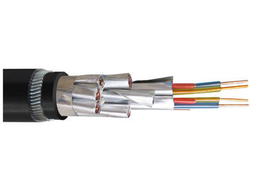 China XLPE Insulation Steel Wire Shielded Instrument Cable , Armoured Instrument Cable factory