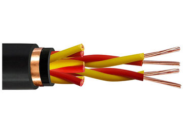 China Twisted Pair Conductor Shielded Instrument Cable Commercial 0.5 - 1.5 sq mm factory
