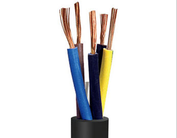 Oil Resistant Weather Resistant W Model Rubber Sheathed Cable For Communication