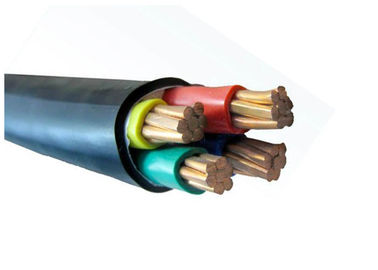 China CE Certificate 0.6/1kV Pvc Insulated Power Cable Four Core Copper Conductor Electric Cable factory