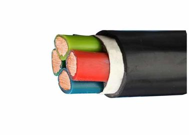 China Fire Resistant Cable Copper Stranded Conductor 4 Cores 0.6/1KV PVC Insulated Power Cable factory