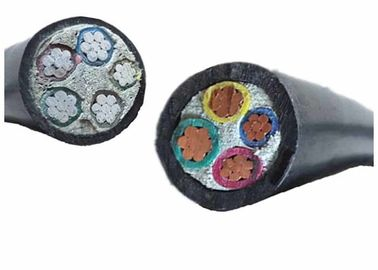 China Aluminium / Copper stranded conductor PVC Insulated power Cable with Fillers factory