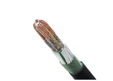 90 Degree 0.6 / 1kV Fire Resistant Cable With Low Halogen Acid Gas Emissions
