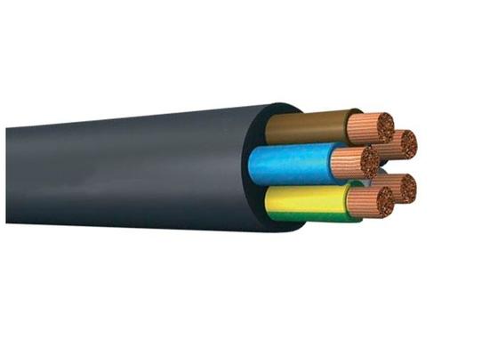 CE 1kV Copper Conductor PVC Insulated Cables Five Cores CU / PVC / PVC Cable
