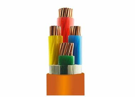 Flame Retardant 0.6 / 1KV LowSmoke Halogen Free Cable Orange Outer Sheath CE Qualified