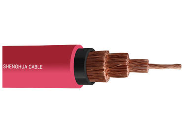 Flexible Rubber Cable 1.9 / 3.3 KV  Low Halogen Low Smoke Rubber Sheathed Cable