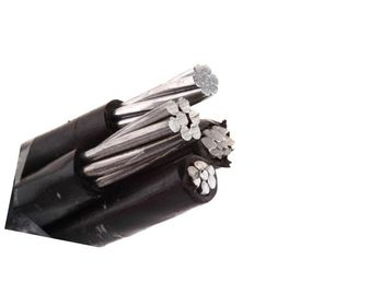 Four Core Aerial Bundled Cable 0.6kV / 1kV for Overhead Power Lines