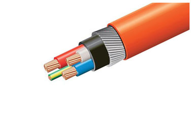 Armoured Low Smoke Zero Halogen Cable 0.6 / 1kv  90 Degree Operating Temp