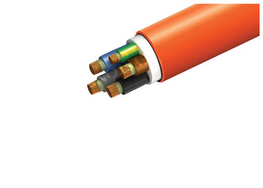 China Multicore Lszh Power Cables Environment Friendly With Orange Outer Sheath factory