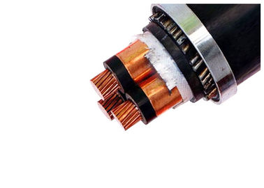 18 / 30kv Three Core Xlpe Insulated Power Cable Zr-pvc Medium Voltage