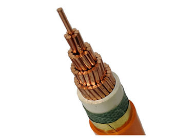 Safety Low Smoke Zero Halogen Cable Orange Color Lszh Power Cable For Indoors / In Tunnel