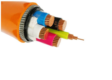IEC 60502 - 1 Approval N2XH Low Smoke Zero Halogen Power Cable Four Cores XLPE Insulated