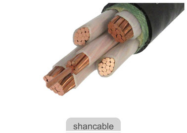 China Electrical XLPE Insulation Cable , Underground Armoured PVC XLPE Cable factory