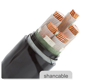 China 3 Phase Armored Electrical Cable , Armoured Power Cable Pvc Sheath factory