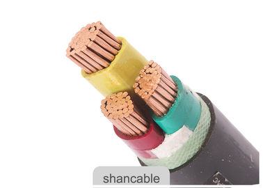 Three Core Low Voltage 1kV Power Cable Copper Conductor XLPE Insulated