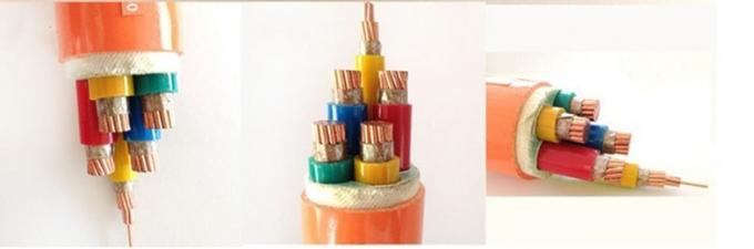 Colored Multicore Low Smoke Zero Halogen Cable For Hospital Buildings