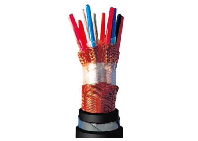 Flame Retardant Shielded Instrument Cable , Steel Tape Armoured Cable